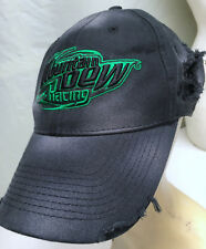 Mountain Dew Racing Genuinely Trashed Distressed Adjustable Baseball Cap Hat