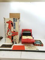 Vintage 1964 The Big Press Printing Set by Ideal w/ Box Rare Old Toy Antique