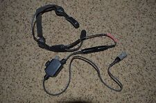 Oldgen Atlantic Signal Coms Headset PTT Maritime 10 Pin NSW DEVGRU TEA Navy SEAL