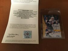 BRETT HULL SIGNED AUTOGRAPHED 1995 SP UPPER DECK CARD UDA HOLOGRAM & COA LTD 88