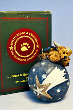 Boyds Bearstone - Wilson w/ Shooting Star Ornament - Style # 25702 2E