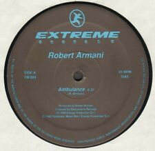 Robert Armani – Ambulance - Extreme Records – TM 009 - Ita 1992