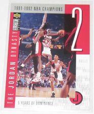 1997/98 Michael Jordan Upper Deck CC The Jordan Dynasty Insert Card #JO2 Ser #