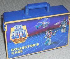 Gobots COLLECTORS CASE Bandai Super Gobot 1984