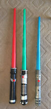 Star Wars Lightsabers Official 1999 2002 Hasbro Lucasfilms Prequels