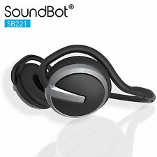 SoundBot SB221 HD Wireless Bluetooth 4.0 Headset Sports-Active Headphone for ...