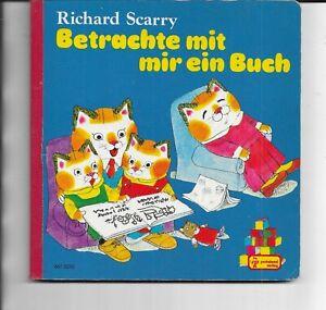 Betrachte mit mir ein Buch von Richard Scarry -  Pestalozzi