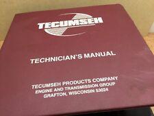 TECUMSEH Technician's Handbook