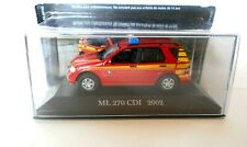 Die Cast ML 270 CDI - 2002 MERCEDES COLLECTION SCALA 1/43  #77
