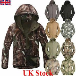 Waterproof Men Coat Tactical Soft Shell Military Jackets Climbing Outdoor Jacket