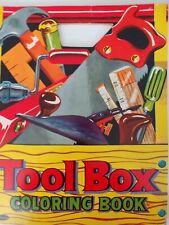 vintage Tool Box coloring book