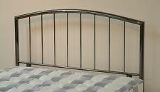 5ft Kingsize Metal Headboard for Bed in SMOKED chromed finish BRAND NEW