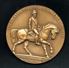Monarchy/Pedro I of Brazil/ King Pedro IV/French Sculptor/Bronze Medal M.14 c