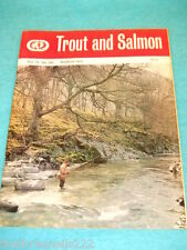 TROUT AND SALMON - MARCH 1972 VOL 17 # 201