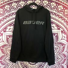 Bauer Hockey Ice Roller Hoodie Pullover Pure Hockey Monkey Jacket Large