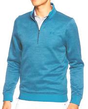 Nwt Men's Sm Under Armour Coldgear Sweater Fleece Herringbone ¼ Zip,1309289, $75