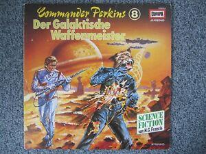 LP Commander Perkins Der galaktische Waffenmeister 8 Vinyl Schallplatte Hörspiel