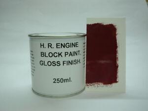 250ml BMC & MG Burgundy- Maroon Heat Resistant Gloss Enamel Engine Caliper Paint