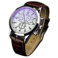 Reloj De Cuarzo para hombre Lujo Relojes moda 3 ojos Cuarzo