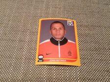 #339 John Heitinga Países Bajos Panini world cup 2010 Swiss problema Pegatina Everton