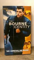 The Bourne Identity [VHS]