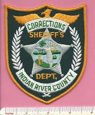 Indian River County FL Florida Fla Sheriff Corrections Police Shoulder Patch