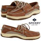 Sperry Top-Sider Billfish 3-Eye Men's Boat Shoes Water-Resistant Comfort NIB