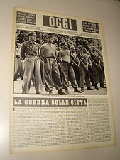 OGGI=1940/36=2° GUERRA MONDIALE=GIOVENTU ITALIANA DEL LITTORIO G.I.L.=COMISSO=