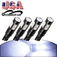 4X 7000K White High Power 50W T10 Projector Lens LED Reverse Backup Light 921 US