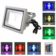 Outdoor Waterproof Spotlight Wall Wash Flood Light LED 16 RGB Color Change 10W