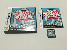 Big Brain Academy (Nintendo DS, 2006) Complete Tested