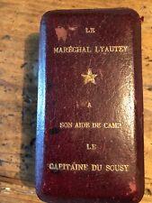 medaille militaire maréchal Lyautey ww1 rare légion d'honneur croix de guerre