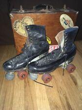 Vintage Riedell Mens Roller skates size 11.5 Douglas Snyder CUSTOM SUPER DELUXE