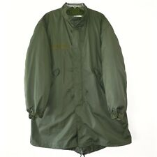 VINTAGE US ARMY 1976 M-65 M65 FISHTAIL PARKA COLD WEATHER WITH LINER SIZE SMALL