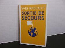 SORTIE DE SECOURS  Cécile Girolami