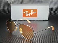 RAY BAN RB3025 9065V9 Aviator Silver Orange 58 mm Men's Sunglasses
