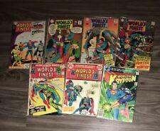 World's Finest Comics Lot 164,178,180,181,212,217 (DC) Batman Superman Arrow