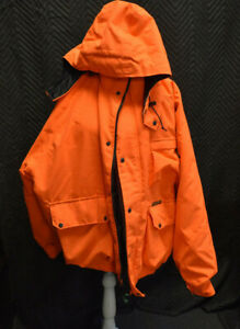 Remington Highlighter Orange Hunting Jacket With Detachable Hoodie