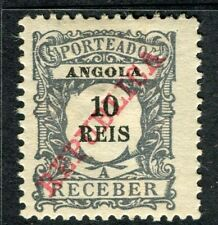 PORTUGUESE ANGOLA 1911 REPUBLICA Postage Due issue Mint unused 10r. value