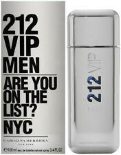 212 VIP MEN by Carolina Herrera cologne EDT 3.3 / 3.4 oz New in Box