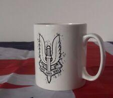 SAS COFFEE MUG SIGNED BY ANDY MCNAB