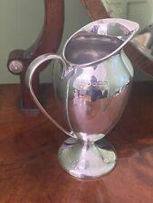 More details for antique george v sterling silver 925 pedestal jug - henry williamson, 1921