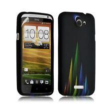 Housse coque étui gel pour HTC One X motif LM02 + Film protecteur