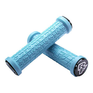 Race Face Grippler Limited Edition Lock-On Handlebar Grips Electric Blue 33mm