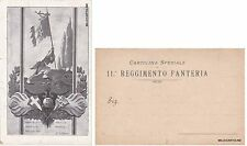 # 11° REGGIMENTO FANTERIA - cartolina speciale