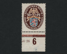 OPC 1926 Germany 50pf High Value Sc#B18 Mi#401x MNH OG Margin Fault