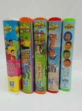 The Wiggles VHS Video Tape Lot of 5 Wiggly Safari Wiggle Bay