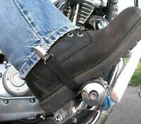 Biker Motorcycle Pant Leg Clamps Straps Clips Holder Ryder Stirrups Fully Adjust