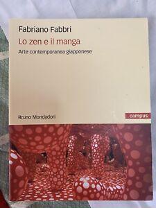 Vendo libro 'LO ZEN e IL MANGA'' (arte Contemporanea giapponese) 18€
