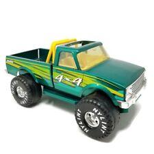"Vintage Nylint Pressed Steel Green Chevy 4X4 Pickup Truck 14.5"""